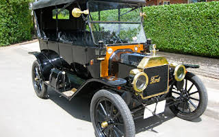 Ford Model T Touring Rent Fyn