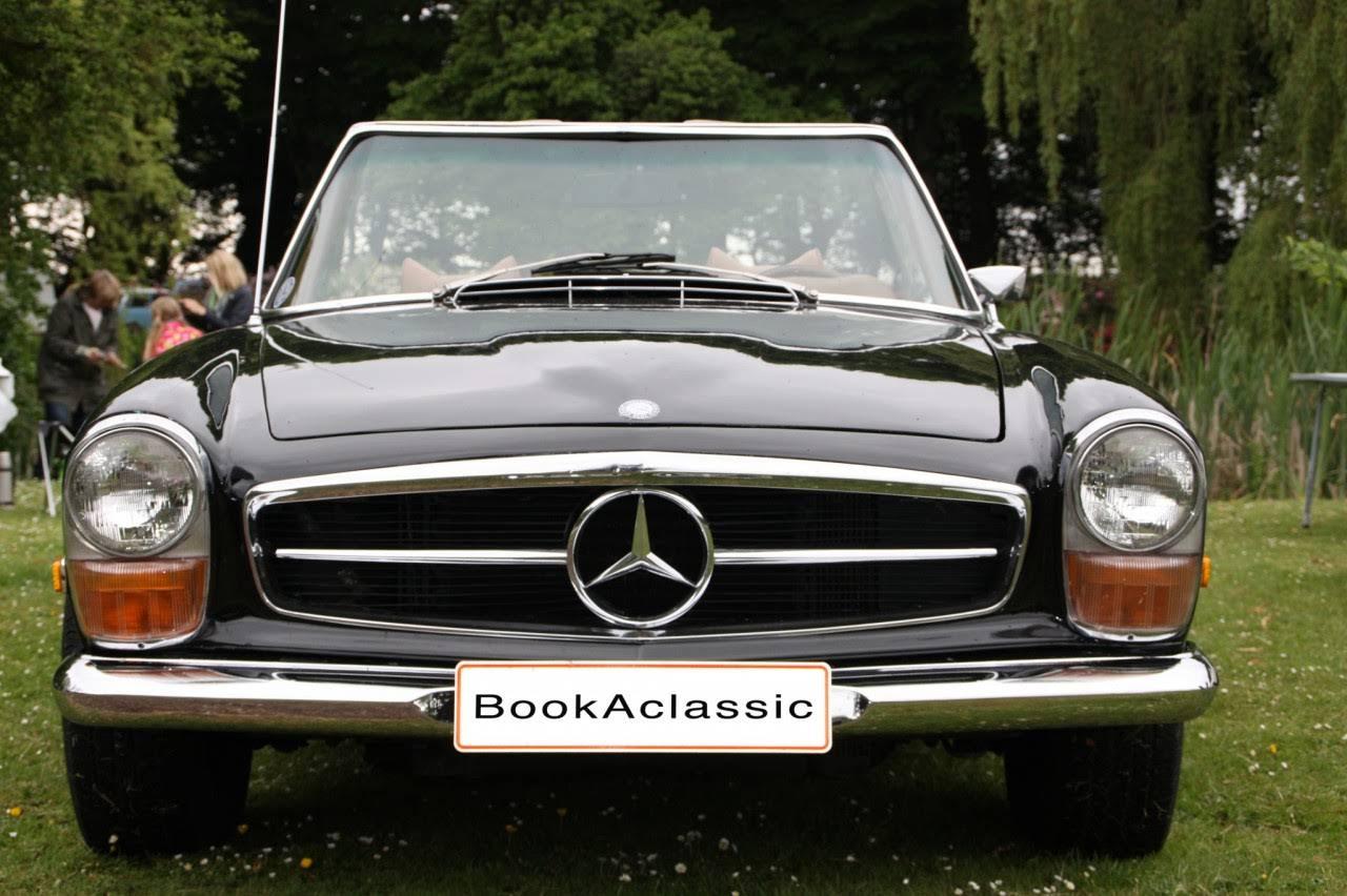Mercedes 280 SL til leje i Frederiksberg - BookAclassic