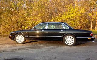 Jaguar LWB super v8 Rent København