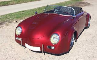 Porsche 356 speedster Wide Boby Replica Rent Midtjylland
