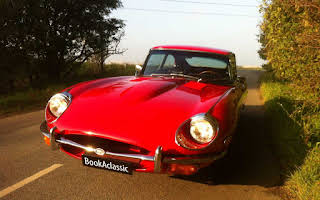 Jaguar E Type 2+2 Rent Fyn