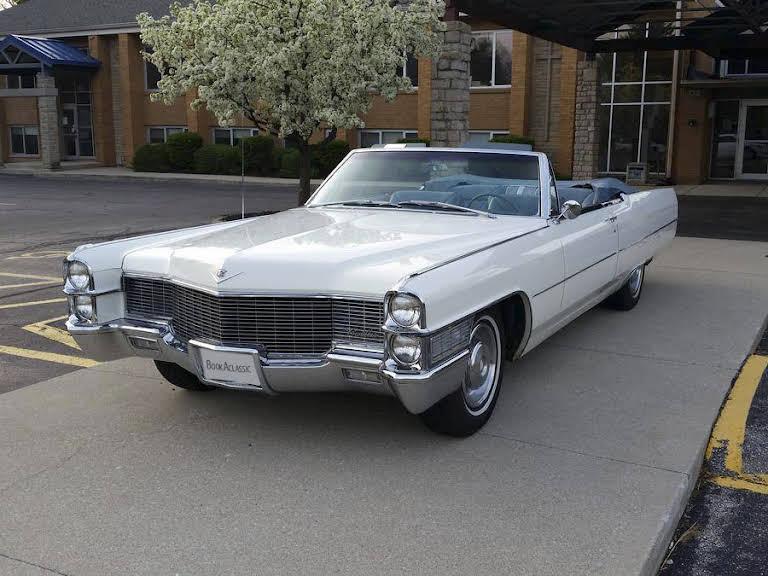 Cadillac DeVille Convertible Hire København