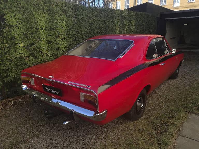 Opel Rekord Hire Charlottenlund