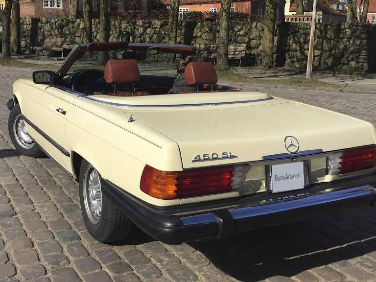Mercedes 450SL Hire Viborg
