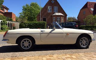 MG B Roadster Rent Fyn