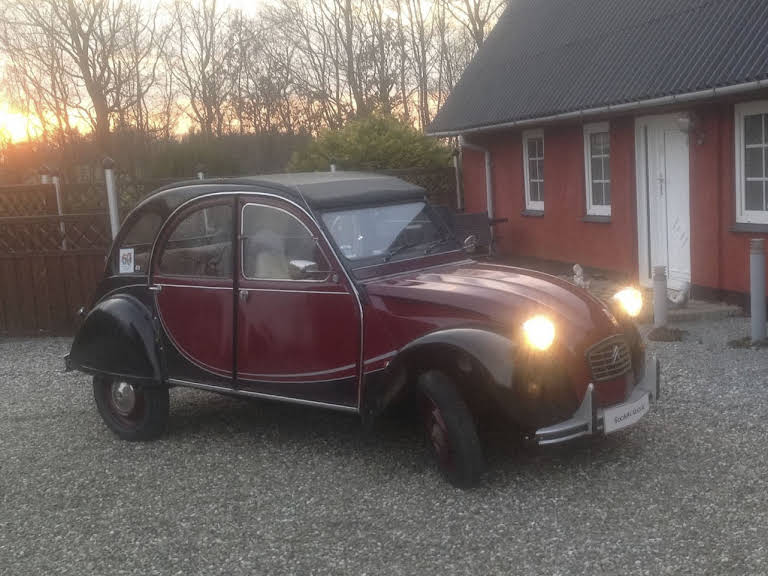 Citroen 2cv Charleston Hire Hovborg