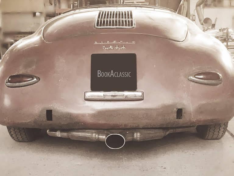 Porsche 356 Hire Risskov
