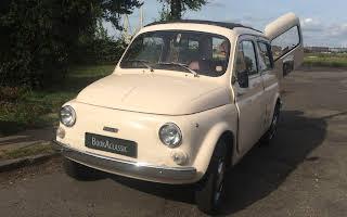 Fiat 500 G Rent København