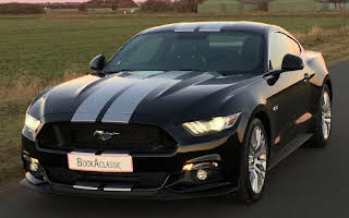 Ford Mustang Rent Midtjylland