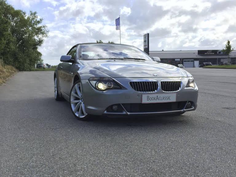 BMW 645ci Hire København