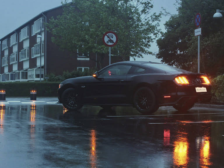 Ford Mustang Hire Glostrup