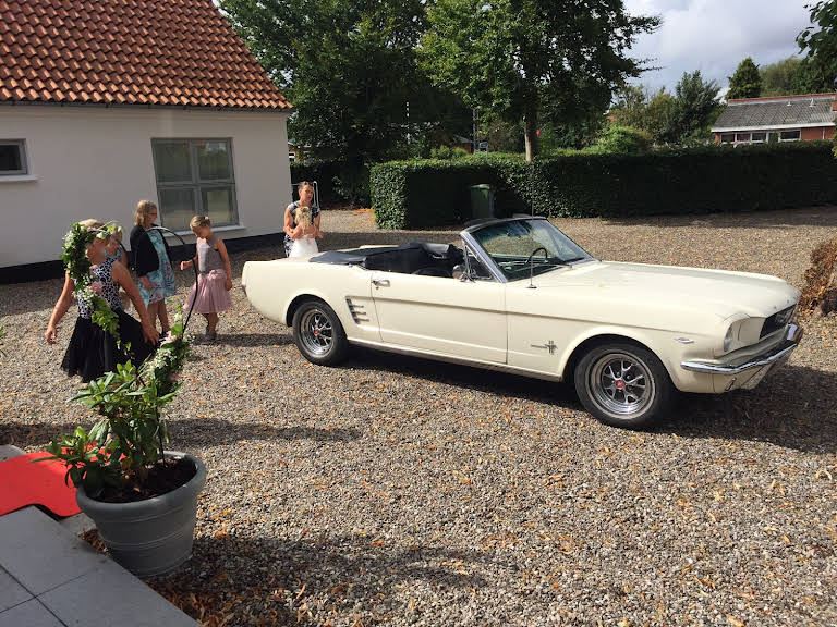 Ford Mustang Hire Kolding