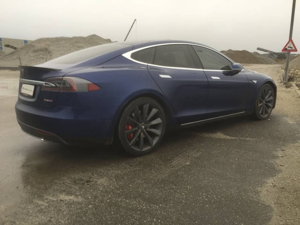 Tesla Model S P85d Hire Gelsted