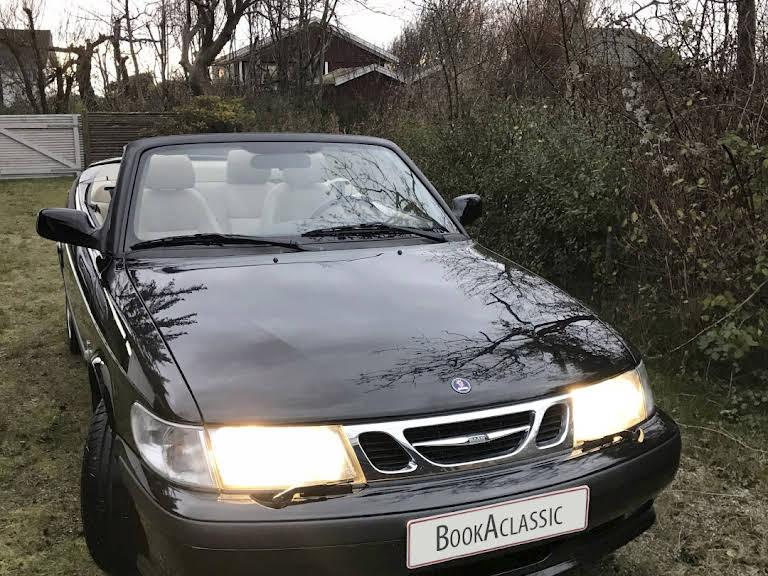Saab 9-3 Cabriolet Hire Charlottenlund
