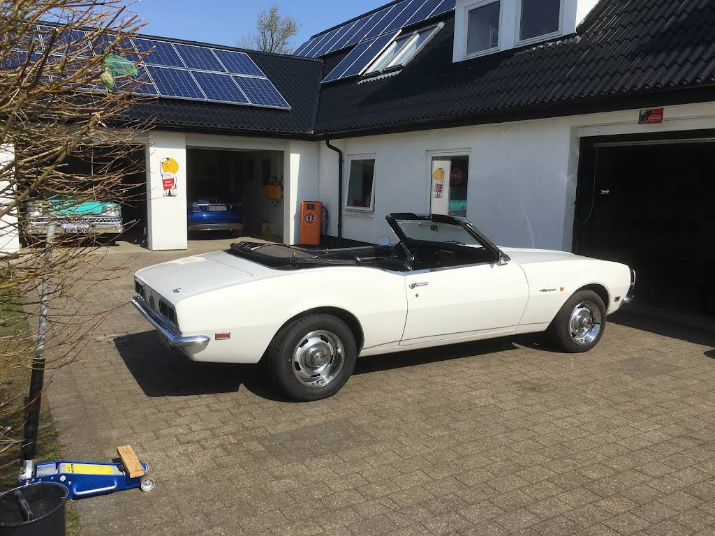 Chevrolet Camaro Rs Cabriolet Hire Gelsted